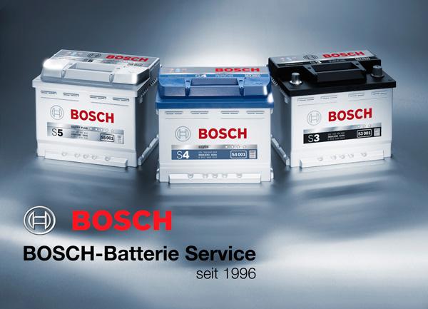 KFZ Werkstatt W und Ö Autotechnik in Oberndorf - Bosch Autobatterien